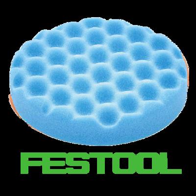 Полировальник Festool синий рифленый 150мм