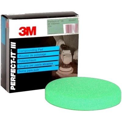 Полировальник 3M 50487 зеленый 150mm