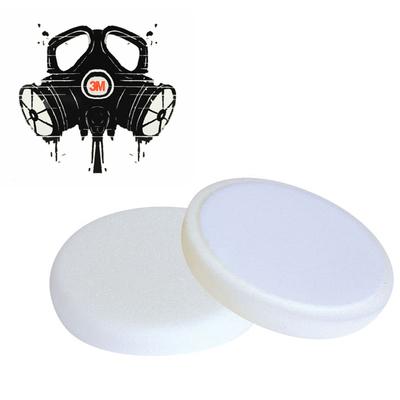 Полировальник 3mrussia-shop для абразивной пасты белый сильножесткий D=150мм. (30 мм.толщина)