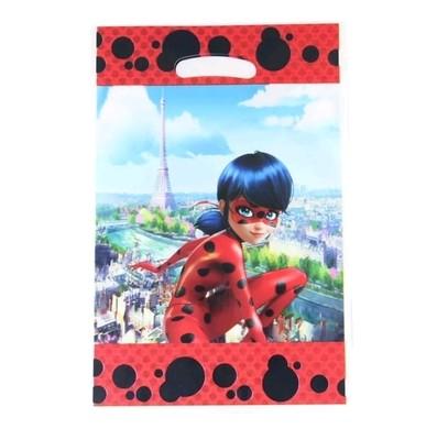 10 bustine Miraculous Ladybug confezioni regalo