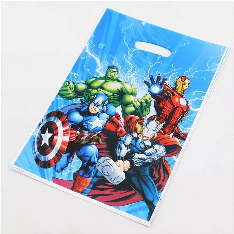 10 bustine Avengers confezioni regalo