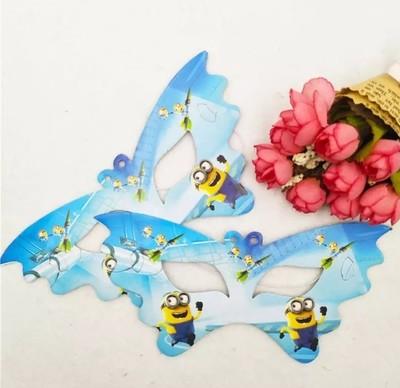 10 Maschere a tema I Minions addobbi decorazioni festa compleanno bambini