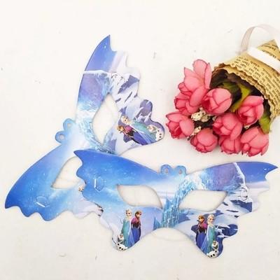 10 Maschere a tema Principesse Anna Elsa addobbi decorazioni festa compleanno bambini