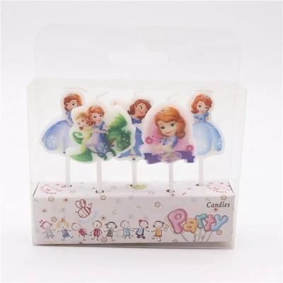 5 candeline Sofia decorazioni torte festa compleanno a tema