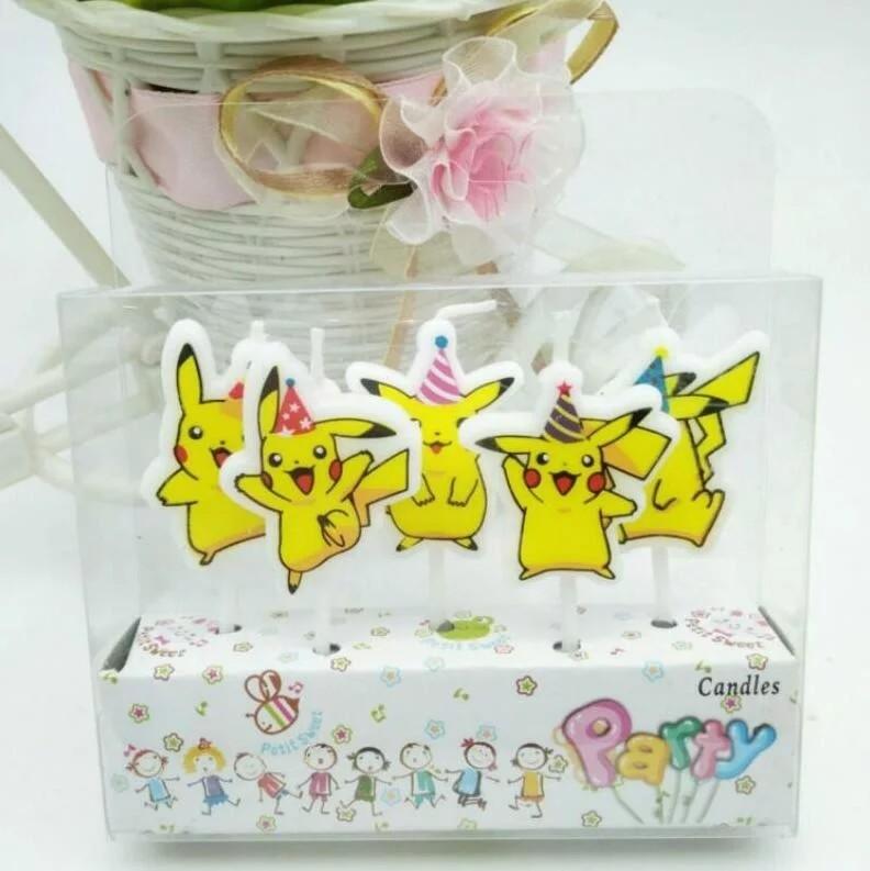 5 candeline Pokemon Go decorazioni torte festa compleanno a tema