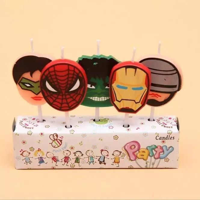 5 candeline Avengers decorazioni torte festa compleanno a tema