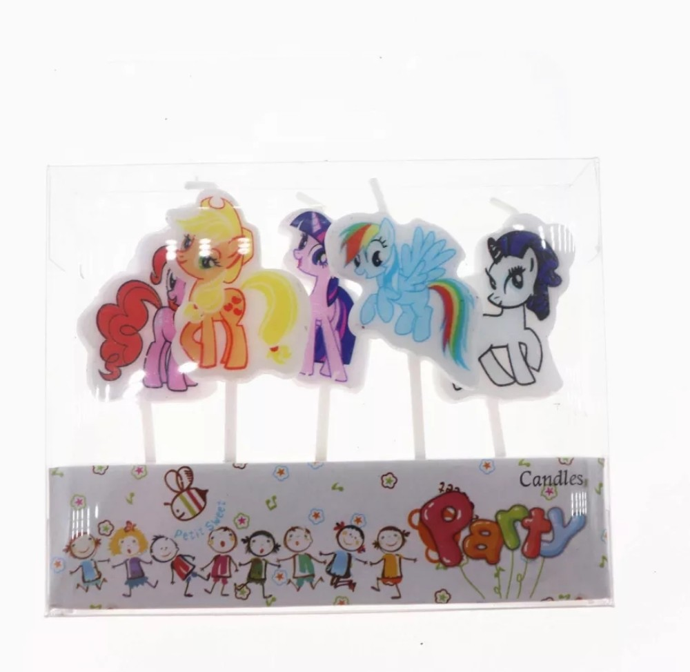 5 candeline My Little Pony decorazioni torte festa compleanno a tema