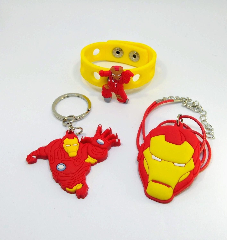 10 Gadget Mix Ironman regalini fine festa a tema