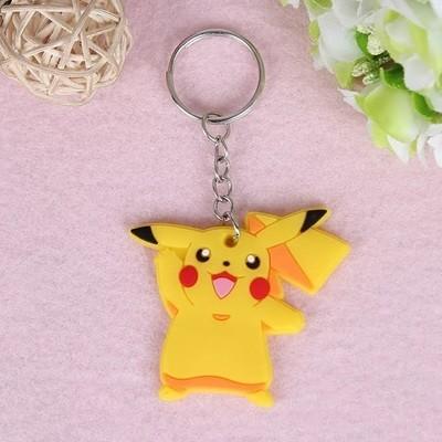 10 portachiavi Pokemon Pikachu chiusura zip lampo zaino scuola