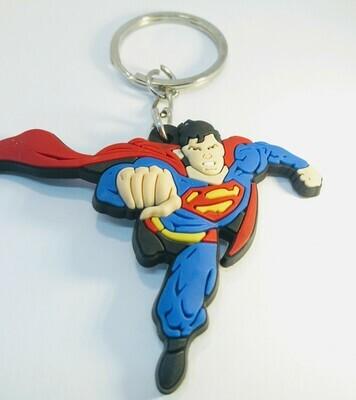 10 portachiavi Superman chiusura zip lampo zaino scuola