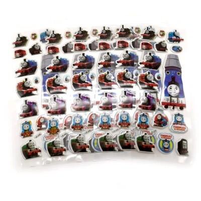 30 fogli stickers Adesivi Trenino Thomas