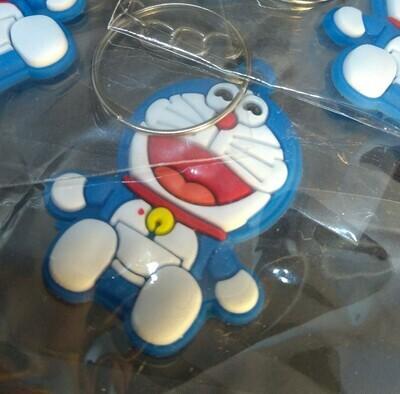 10 portachiavi Doraemon chiusura zip lampo zaino scuola