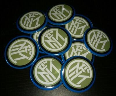 10 Spille 4.5cm zaino scuola personalizzabili Inter Squadra di Calcio Serie A