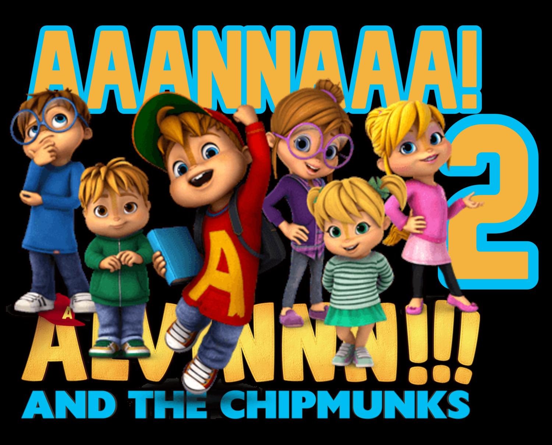 72 Adesivi Stickers Alvin and the chipmunks sagomati personalizzabili decorare festa a tema compleanno bambini