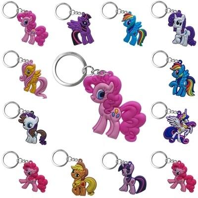 10 Portachiavi zaino scuola My Little Pony