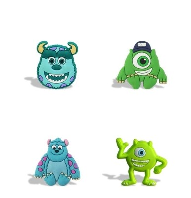 10 magneti calamite Frigo a tema Mike e Sulley Monsters University