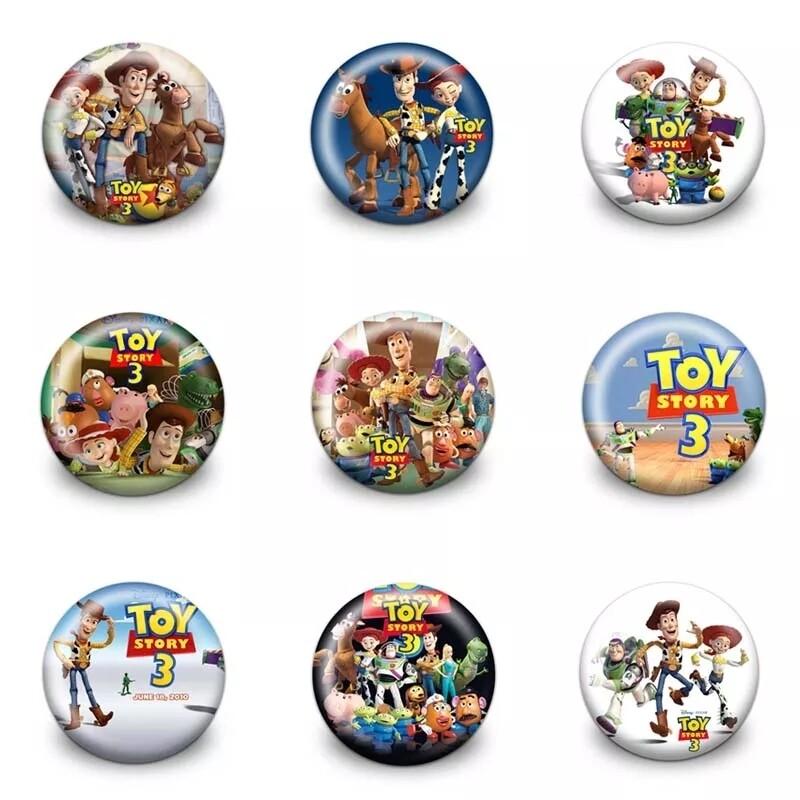 10 Spille 3cm zaino scuola personalizzabili Toy Story