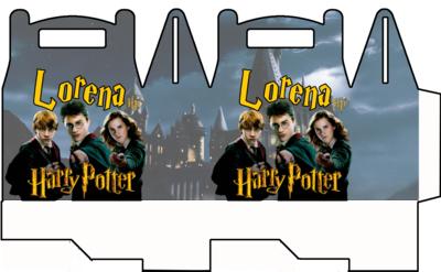 1 Scatolina Harry Potter personalizzabili Regalo porta Gadgets confetti Caramelle bomboniere