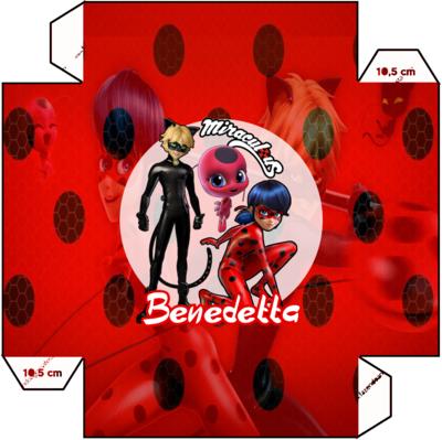 File digitale Piatti Miraculous Ladybug personalizzabili addobbi festa compleanno a tema