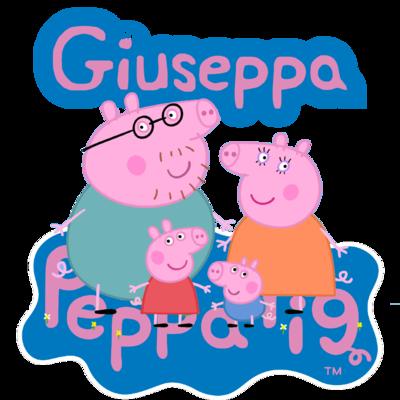 File digitale Adesivi Bicchieri Peppa Pig sagomati personalizzabili decorare festa a tema compleanno bambini