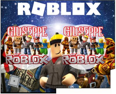 File Digitale Porta Tovaglioli e Posate personalizzati Roblox addobbi feste di compleanno
