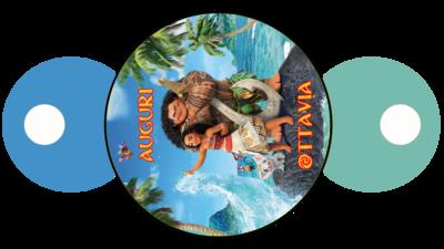 File digitale copri cannucce personalizzabili Oceania decorazioni festa a tema