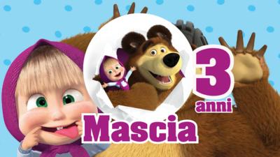 16 etichette adesive Masha e Orso bolle di sapone personalizzate