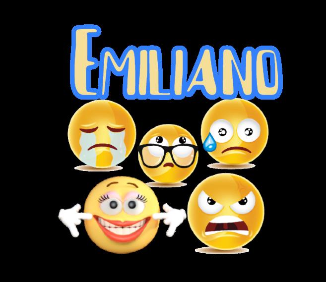 10 Adesivi Bicchieri Emoji Emoticons sagomati personalizzabili decorare festa a tema compleanno bambini