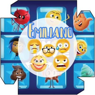 1 Piatto Emoji Emoticons personalizzabili addobbi festa compleanno a tema