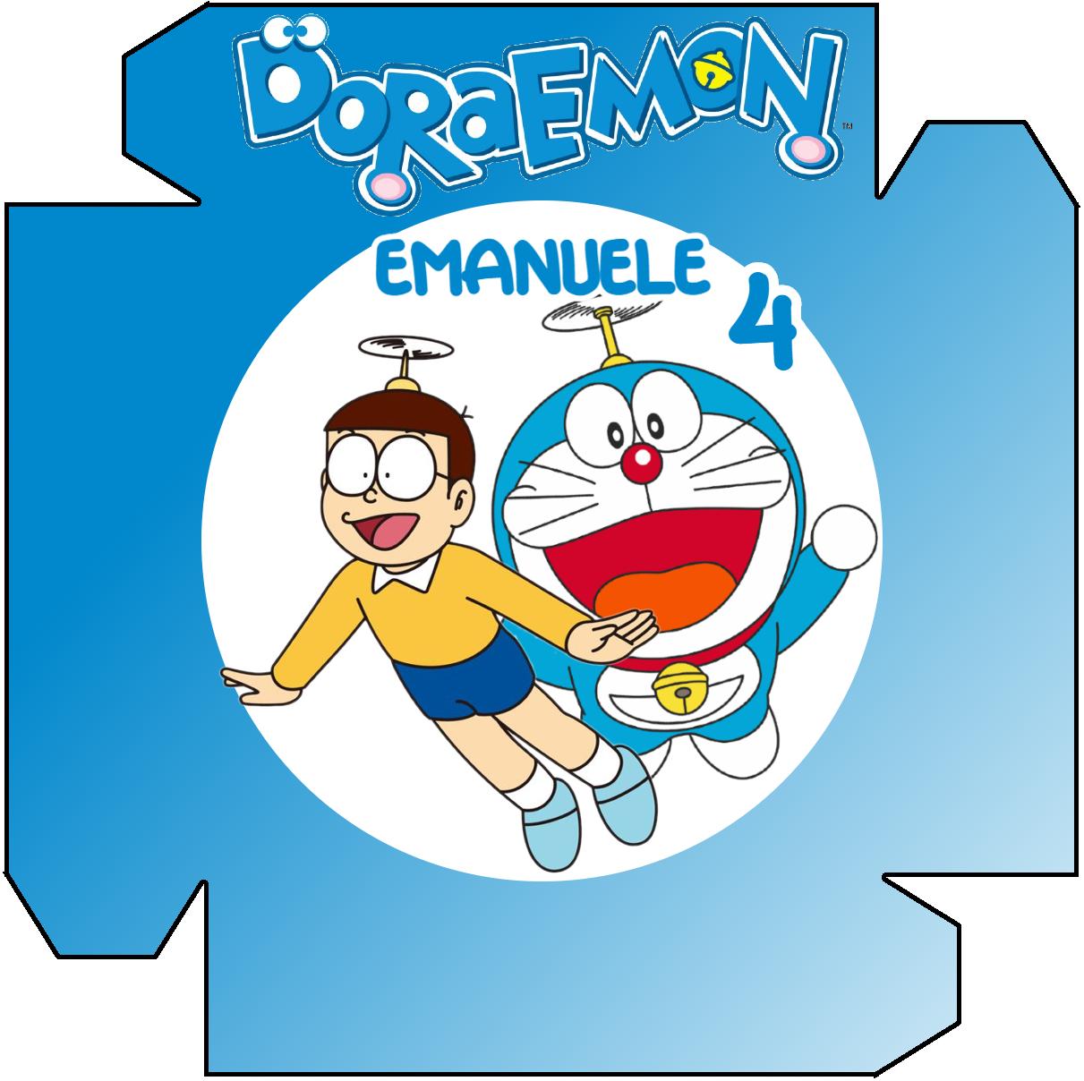 1 Piatto panino Doraemon personalizzabili addobbi festa compleanno a tema
