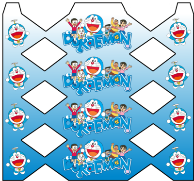 1 Scatolina Doraemon a Caramella personalizzabili Regalo porta Gadgets confetti bomboniere