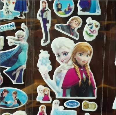 (Scegli il Personaggio) 30 fogli stickers Adesivi cartone animato