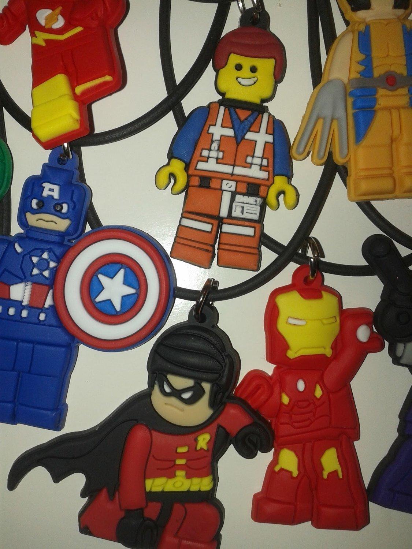 10 Collane Lego Movie pendente in PVC