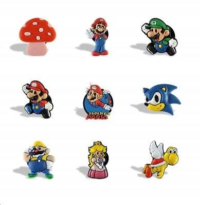 10 magneti calamite Frigo a tema Super Mario Bros
