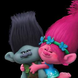 Gadget a tema Trolls Poppy regalini fine festa compleanno