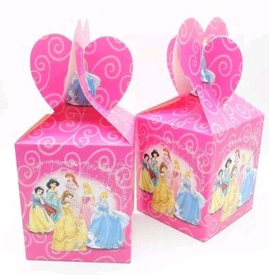 10 Scatoline Regalo Principesse Disney porta Gadgets confetti Caramelle