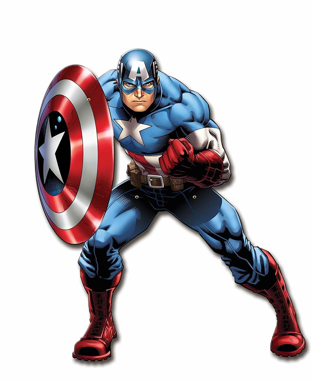 Gadget personalizzati Capitan America regali a tema fine festa compleanno bambini