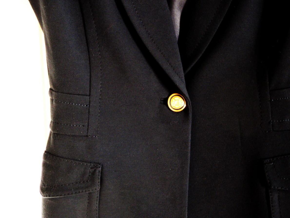 Elie Tahari Navy Blue Ladies Blazer Designer Suit Jacket