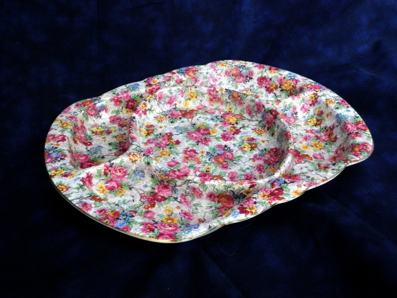 Lord Nelson Marina Chintz 5 Section Serving Dish