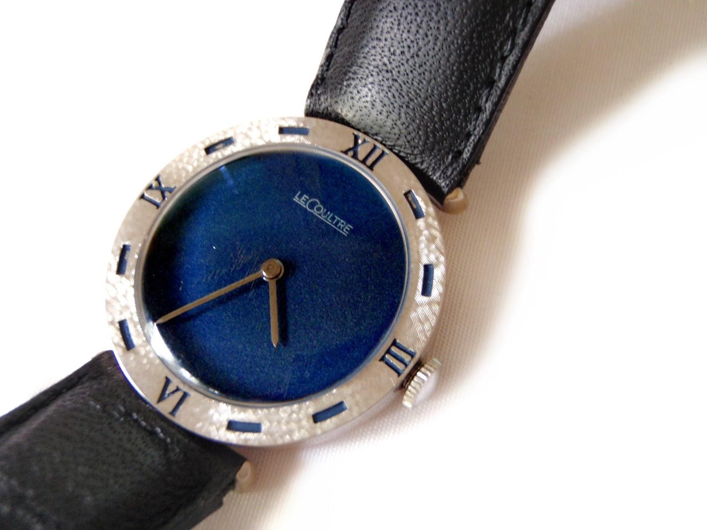 Mid-Century LeCoultre Vacheron (VXN) Movement Blue Dial