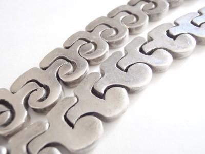 Vintage Taxco Salvador Juller Garcia Puzzle Necklace