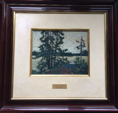 Tom Thomson  Group of Seven  Algonquin Ltd Ed 52 of 460 Framed