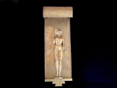 1920s Art Deco Naked Woman Wall Sconce Lighting Vintage Wall Home Decor