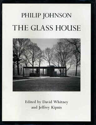 The Glass House 1st Ed Book 1993 Philip Johnson Mid Century Modern Architecture