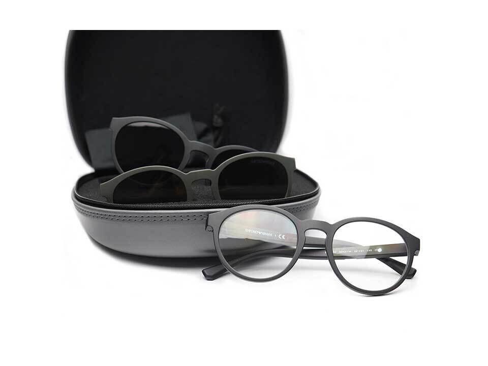 Empiorio Armani 4152 Sunglasses with 2 Lenses