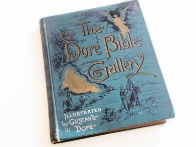 Gustave Dore Bible Engravings 1880 Book