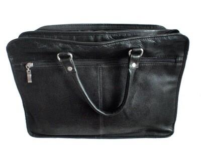 Queros Columbian Leather Laptop Work Briefcase