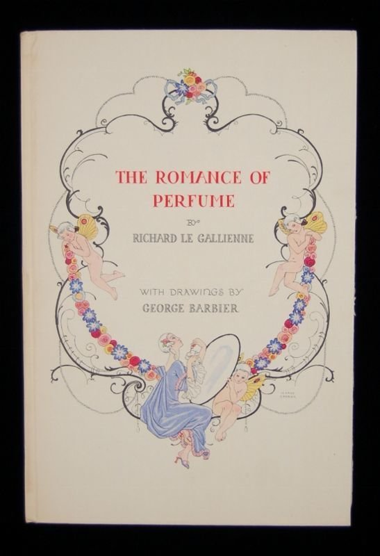 The Romance of Perfume  George Barbier Illustrations 1st Ed 1928 Richard Hudnut