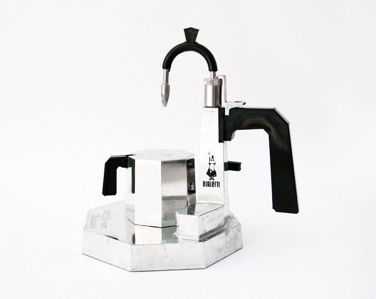 Boxed Italian Stove Top Espresso Cappuccino Latte Maker and Milk Steamer - Bialetti Termocrem