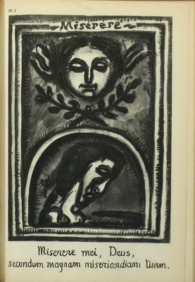 MOMA 1st Ed Miserere by Georges Rouault 1952 Gravure